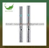 4 '' kupferner Draht-Messinganschluss-tiefe Vertiefungs-Mehrstufenpumpen-Wasser Pompa (4SP3/25-1.5KW) der Qualitäts-2HP