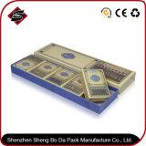Rectángulo de empaquetado de papel modificado para requisitos particulares del regalo de la insignia 352*102*30m m