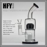 """Des Hfy Glas-2017 neue Arm-Baum-Huka-Hand durchgebrannte unbesonnene Tabak-Wasser-Rohre Ankünftetoro-12 """" des Trinkwasserbrunnen-8, die mit Platten und grossem Rohr rauchen"""