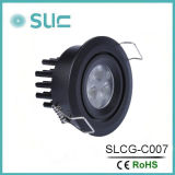 3W Under  Cabinet  Luz clara do diodo emissor de luz Dimmable para o Showcase (SLCG-C007)