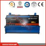 QC11Y 6X2500 0.25inch 8feet hidráulicas de mano guillotina cizalla, Manual Nc placa eléctrica hidráulica de cizalla