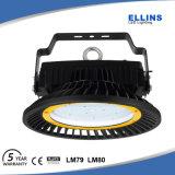 Indicatore luminoso 130lm/W della baia del UFO 200W LED dell'alluminio IP65 alto