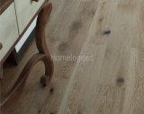 Естественно с античной белизной тонизирует настил дуба Multi/пол твёрдой древесины проектированные слоем деревянные
