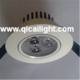 shell LED Downlight de 12X1w White+Black
