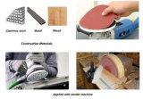 Абразив сформированный мышью бумажный оборудует диск Abriasive