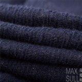 Tessuto Mixed delle lane di /Cotton /Acrylic delle lane per la stagione di autunno nell'azzurro di blu marino