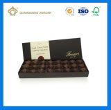 Rectángulo de empaquetado del chocolate a todo color de la impresión de Matt de la alta calidad (con el divisor interno de la bandeja)
