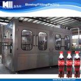 Bebida líquida do gás que faz a máquina de engarrafamento de enchimento para a coca-cola