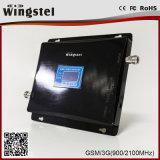 GM/M servocommande/répéteur/amplificateur de signal de GM/M de réseau de 900/1800 mégahertz, répéteur du téléphone cellulaire 900 1800MHz
