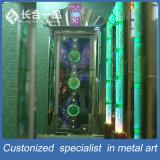صنع وفقا لطلب الزّبون رفاهية معدن [كتف] داخليّة فولاذ باب مع طلية لون