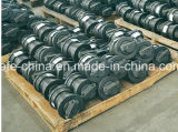 Exkavator-Fahrgestell zerteilt Spur-Rolle für PC200-8 PC300-6