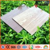 Comitati compositi di alluminio di rivestimento del legno di alta qualità di Ideabond con spessore di 3mm 4mm 5mm (AE-301)