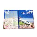 Pappe kundenspezifischer CD Verpackungs-Kasten mit Firmenzeichen-Drucken