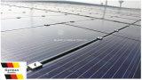 Качество панели солнечных батарей 265W Ae двойное стеклянное поли немецкое