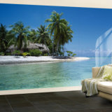 Горячая продавая самомоднейшая настенная роспись стены типа, настенная роспись стены ландшафта напечатанная графиком