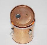 neuer Wasser-Spiritus-Destillierapparatmoonshine-Kupfer-Potenziometer-noch Dampfkesselhauptbrew-Wein-Installationssatz des Gas-8L/2gallon