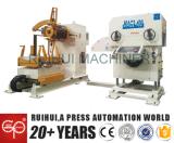 3 en 1 máquina automática serva del alimentador de la prensa de potencia del Nc, la máquina de Uncoiler y la enderezadora
