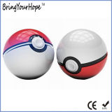 de 2ND Gen Pokeball Bank 12000mAh van de Macht (xh-Pb-239S)