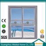 Проектированная раздвижная дверь гостиницы/комнаты алюминиевая стеклянная