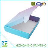 Cadre de empaquetage estampé polychrome de chemise de papier de carton