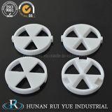 Disco di ceramica della guarnizione dell'allumina di elevata purezza 1/2'95%~96%