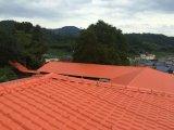 Material de construção para a folha plástica espanhola sintética da telhadura do telhado