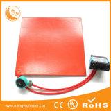 Silikon-flexible Gummiheizelement-Wärmematt-Auflage 300X300mm 200W 240V