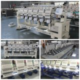 Bordado de la alta precisión de China seis máquinas principales del bordado para la función multi de la camiseta plana del casquillo
