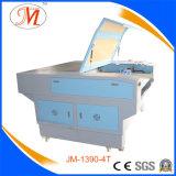 Máquina de estaca eficaz elevada do laser com 4 cabeças (JM-1390-4T)
