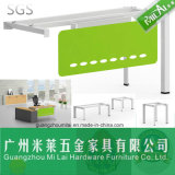 Nuevo escritorio de oficina chino de los muebles de la pierna del vector del hardware con la pintura