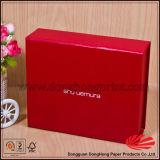 Caixa de presente Foldable do cartão rígido elegante do projeto da parte superior da aleta