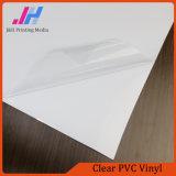 Colle transparente PVC auto-adhésif en vinyle