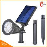 방수 옥외 태양 에너지 스포트라이트 태양 정원 잔디밭 빛 안전 램프 조경 빛