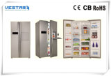 frigorifero di 110V/60Hz a+ 448L con il portello differente di colore