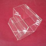 Boîte acrylique à nourriture de boîte de présentation de supermarché de plexiglass avec le support de cuillère (BTR-K4004)