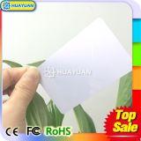 cartão em branco clássico sem contato do PVC de 13.56MHz MIFARE 1K RFID