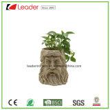 De Planter van de Tuin van het Gezicht van de Boom van Polyresn voor de Decoratie van het Huis en van het Gazon
