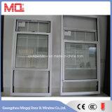Алюминиевое двойное повиснутое окно с конструкцией решетки