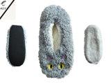 4つのカラー動物のヘッドプラシ天の屋内靴(RY-SL1629)