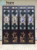 Vidro encaixotado chinês do vidro/Manchuria Windows com vermelho, verde, azul, amarelo (S-MW)