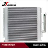 Refrigerador de petróleo de alumínio da máquina escavadora da aleta da placa do OEM