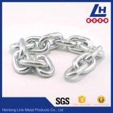Breve catena a maglia placcata zinco DIN5685