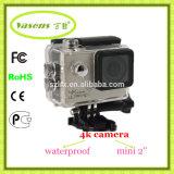 Кулачок 4k DV действия миниого подныривания камеры спорта напольного водоустойчивый