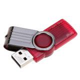 Шарнирного соединения металла ручки памяти привода 8GB 16GB вспышки USB USB 2.0 пер емкости пластичного реальное управляет Dt101g2 Pendrive