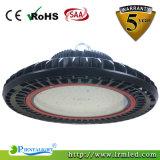 Louro elevado do diodo emissor de luz do UFO da luz 100W da oficina da venda direta da fábrica