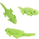 Jouets animaux de de démarrage d'animal familier de jouet de crabot de mastication d'animal familier de produits de corde colorée de coton