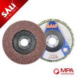 Metal que pule el disco abrasivo de la solapa de China para el metal