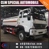 De Chinees 15m3 16m3 Vrachtwagen van het Vervoer van de Brandstof van de Tank van de Olie Huanghe