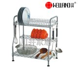 2017 3 Layer NSF Steel Kitchen Wire Shelf Dish Kitchen OEM Metal Plate Rack