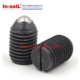 DIN Standardedのばねの球のプランジャ